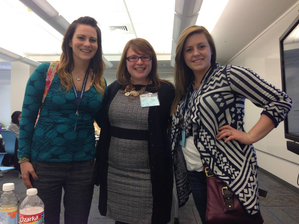 Paula Miller and consultants pose at MSWCA